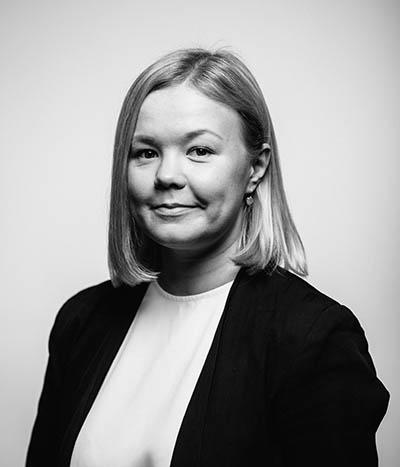 Kasvokuvassa johtava konsultti Kristiina Kurkilahti